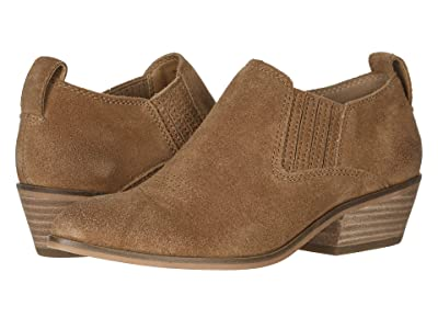 FRYE AND CO. Rubie Western Slip-On (Cognac Suede) Women