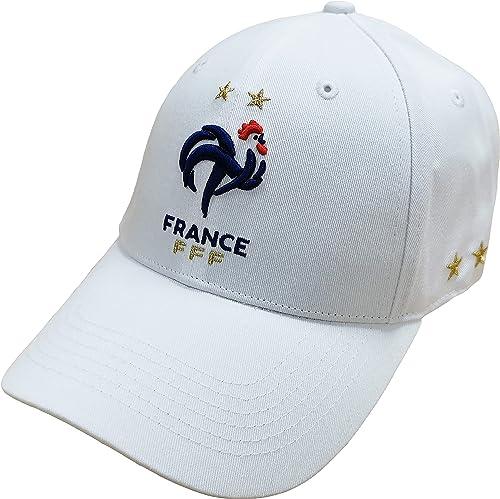 Equipe de FRANCE de football Casquette FFF - Collection Officielle Taille Homme