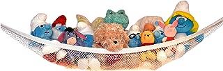 Stuffed Animal Hammock – Toy Hammock – Stuffed Animal Net to Hang on Bedroom Wall – Teddy Bear Hanging Net – Stuffie Storage by Kidde Time