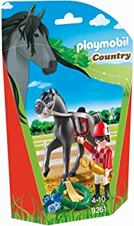 Playmobil Jockey With Racehorse - 4 Years & above