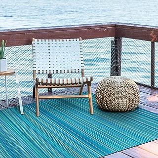 Smart Design SMM006 Indoor/Outdoor Rugs- (Blue,8x10)