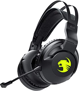 Roccat Elo 7.1 Air   Kabelloses Surround Sound RGB PC Gaming Headset