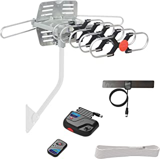 ViewTV UPGRADED 2020 Version Outdoor Amplified Digital HDTV Antenna – up to 150..