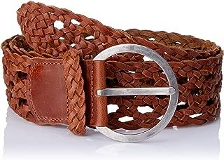 Loop Leather Co Women's Boston Braid Womens Leather Belt
