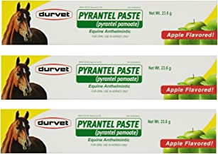 Durvet Pyrantel Paste Wormer, 23.6gm (Pack of 3)