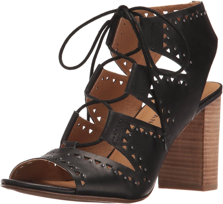 Lucky Brand Women's Tafia Leather Ankle-High Pump