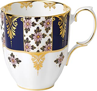 Royal Albert 100 Years 1900 Mug, 14.1 oz, Regency Blue
