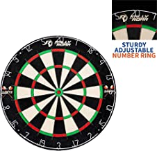 """Dartboard Game with Mounting Brackets, 18"""" by Rally and Roar - Bristle Dart Board for Bars, Arcades, Billiard Rooms, Bedroom, and Game Room - Pro, Recreational, or Competition"""