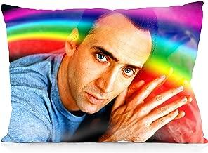 DoubleUSA Nicolas Cage Pillowcases Two Sides Print Zipper Pillow Covers 20