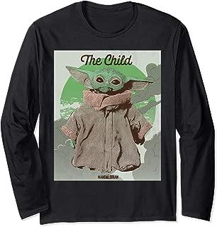 The Mandalorian The Child Poster Long Sleeve T-Shirt