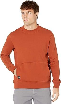 Hunter High Neck Rib Detail Sweatshirt