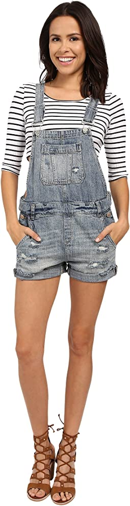 Blank NYC - Denim Short Overalls