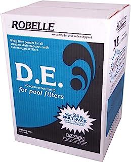 Robelle 4024 D.E./Diatomaceous Earth Powder for Swimming Pools, 24-Pound