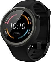 Motorola Moto 360 Sport – 45mm, Black
