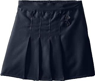 (4717) Genuine School Uniforms Girls 2 Tab Pleated Scooter Skort (Sizes 4-16) in Navy Size: 7