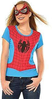 Rubie's Marvel Women's Universe Spider-Girl Classic T Shirt, Multi, Large