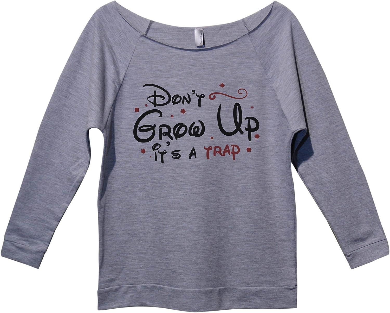Trendy Womens Disney Tops Dont Grow Shirt Atlanta Mall Financial sales sale a Up Its Royaltee Trap