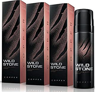 Wild Stone Copper Deo - Pack Of 3