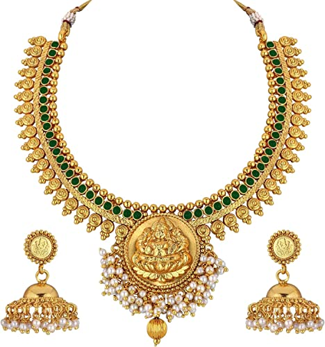 Gold Plated Tample Jewelry Set For Women