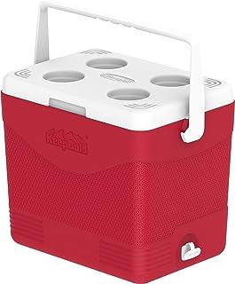 Cosmoplast MFIBXX150RD Keep Cold Plastic Picnic Cooler Icebox 24 Liters