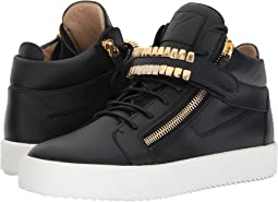 Giuseppe Zanotti May London Mid Top Grill Sneaker