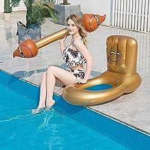 Flotador de la piscina, balsas de batalla inflables para piscinas, juguetes de la fiesta de natación, 4 piezas Pool Floats Juguetes para adolescentes y niños, luchando contra la fila flotante para niñ