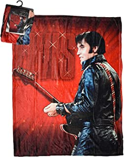 """Midsouth Products Elvis Throw Blanket 50"""" X 60"""" - '68 Comeback"""