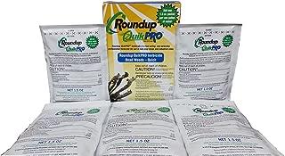 Roundup Quikpro Weed Killer Herbicide 73.3% 1 Packet Per Gallon, 5 Packs