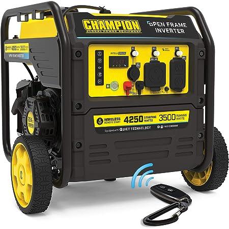 Champion Power Equipment 200953 4250-Watt Open Frame Inverter, Remote Start