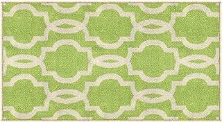 Kapaqua Rubber Backed Fancy Moroccan Doormat Accent Non-Slip Rug, 18