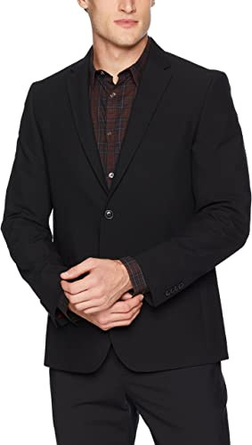 Ben Sherhomme Hommes's Modern Fit Suit Separate (Blazer and Pant), noir, 48R
