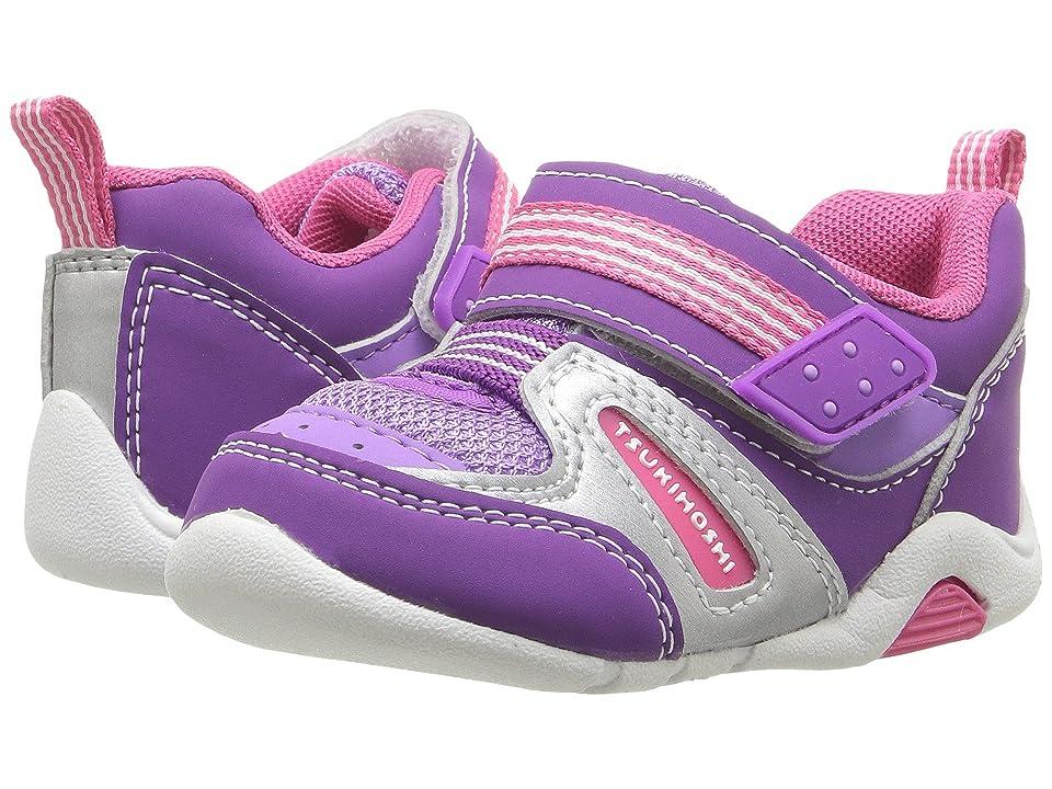 Tsukihoshi Kids Neko (Toddler) (Purple/Berry) Girls Shoes