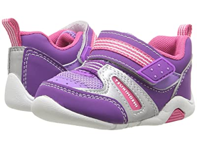Tsukihoshi Kids Neko (Toddler) (Purple/Berry) Girls Shoes