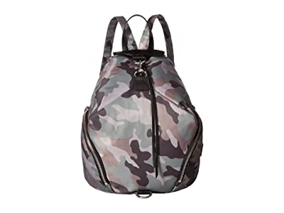 Rebecca Minkoff Julian Nylon Backpack (Camo Print) Backpack Bags