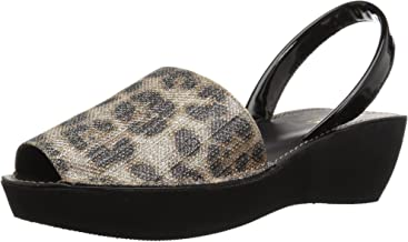 Kenneth Cole REACTION Women's Fine Glass Wedge Sandal with Backstrap