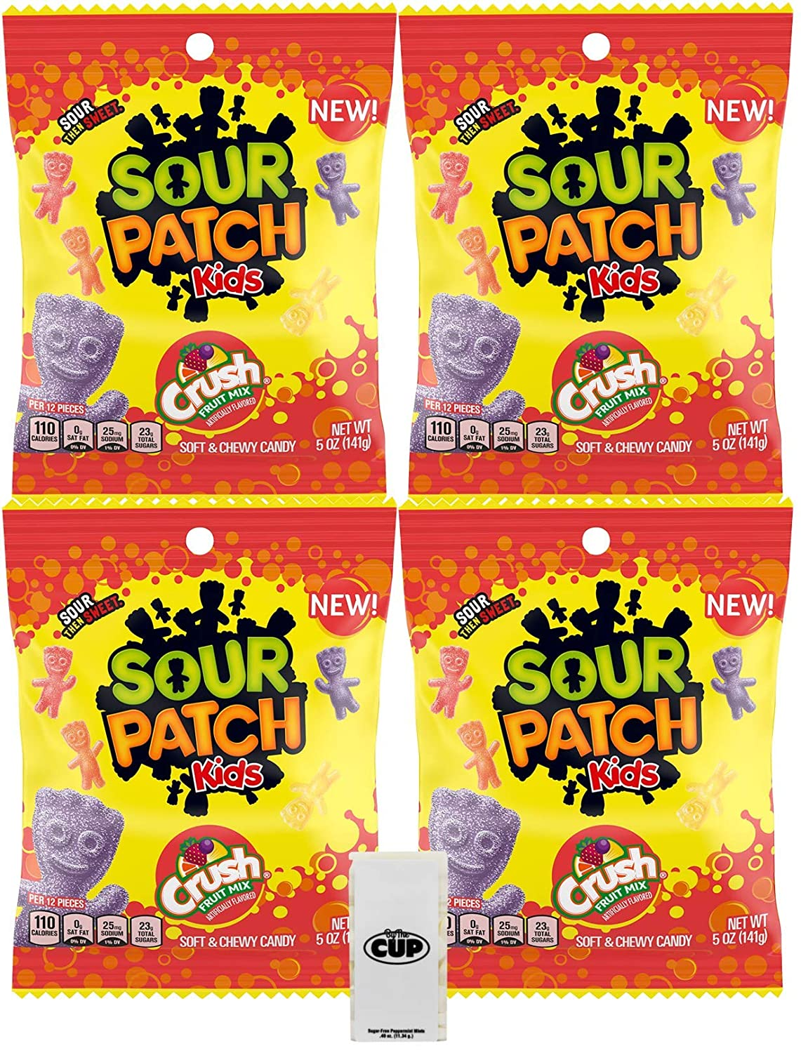 Sour Patch Kids Bombing new work Assorted Crush Soda New mail order Fruit Pack of Mix oz 5 Bags