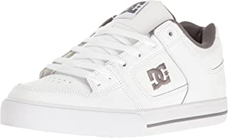 DC Men's Pure Action Sports Shoe,  White/Battleship/White, 9.5 D US