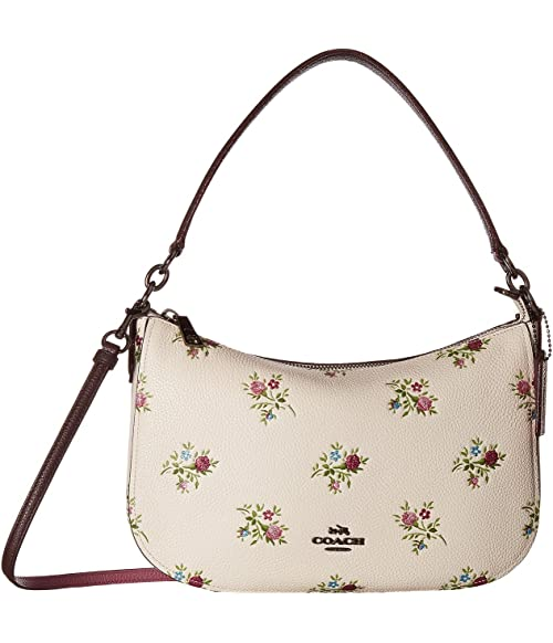 c5a32029b COACH Chelsea Crossbody in Cross Stitch Floral Print on sale at 6pm ...