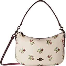 Chelsea Crossbody in Cross Stitch Floral Print