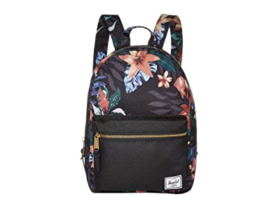 Herschel Supply Co. Grove Small (Summer Floral Black) Backpack Bags