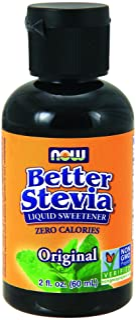 Now Foods, Better Stevia, Zero-Calorie Liquid Sweetener, Original, 2 fl oz (60 ml)