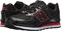 New Balance Kids - GC574v1 - Minnie Rocks the Dots (Big Kid)