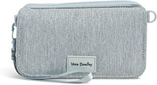 Vera Bradley Recycled Lighten Up Reactive Compact Crossbody Purse with RFID Protection