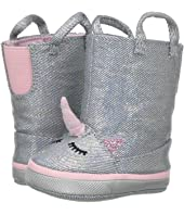Soft Sole Unicorn Boot (Infant)