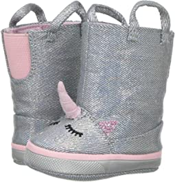 Soft Sole Unicorn Boot (Infant)