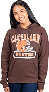 NFL Women's Pullover Hoodie with Team Logo