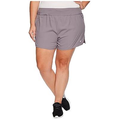 Nike Eclipse 5 Running Short (Size 1X-3X) (Gunsmoke) Women
