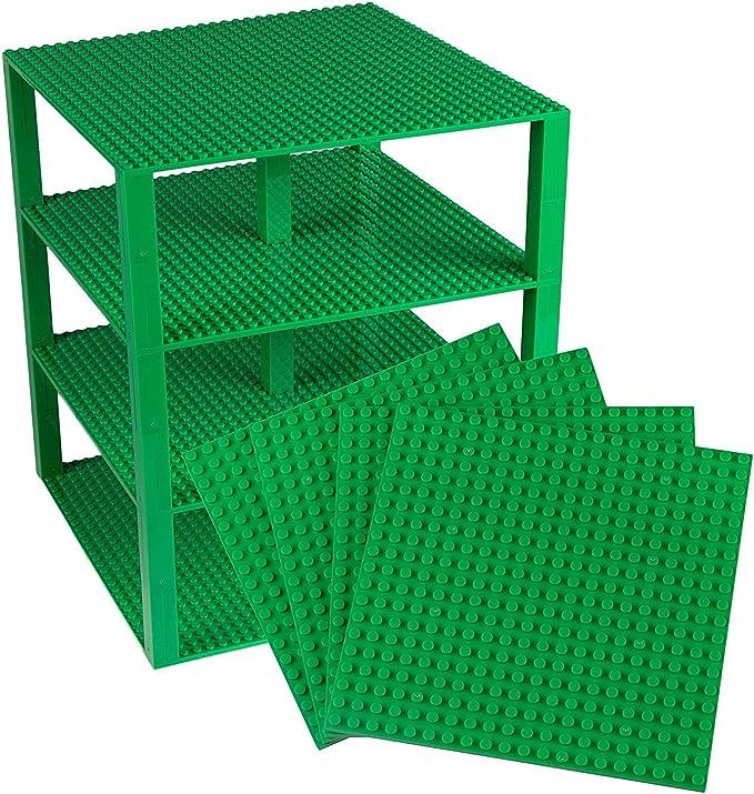 4250 opinioni per Strictly Briks Premium Verde Piastre Base Impilabili Pacco da 4 25. 4cm x 25.