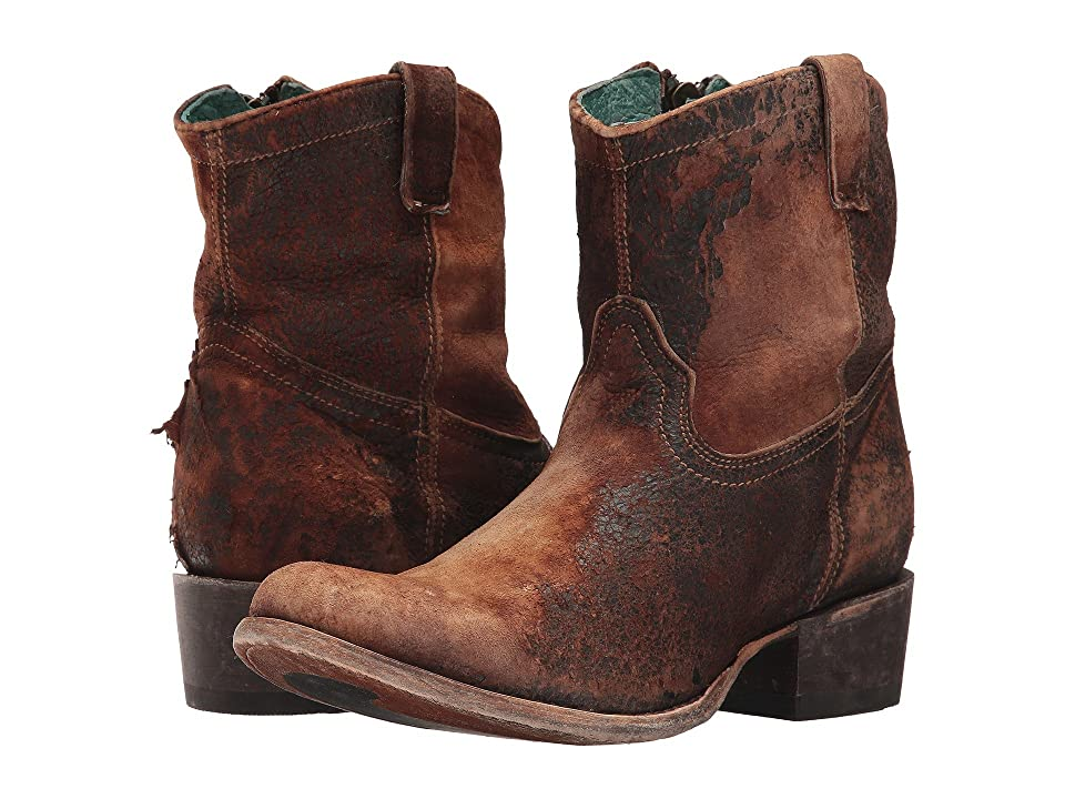 Corral Boots C1064 (Chocolate/Tan) Cowboy Boots