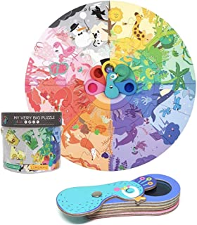 My Very Big Colour Puzzle For Kids - Interactive Educational Game | 8 Different Color Themes | Large Puzzle Pieces | Sturd...